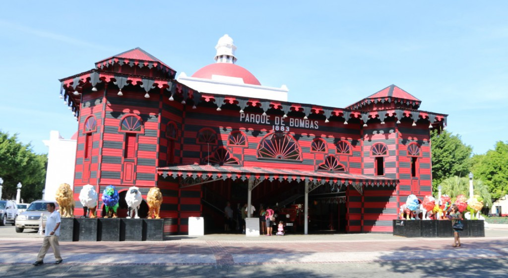Das alte Feuerwehrhaus von Ponce