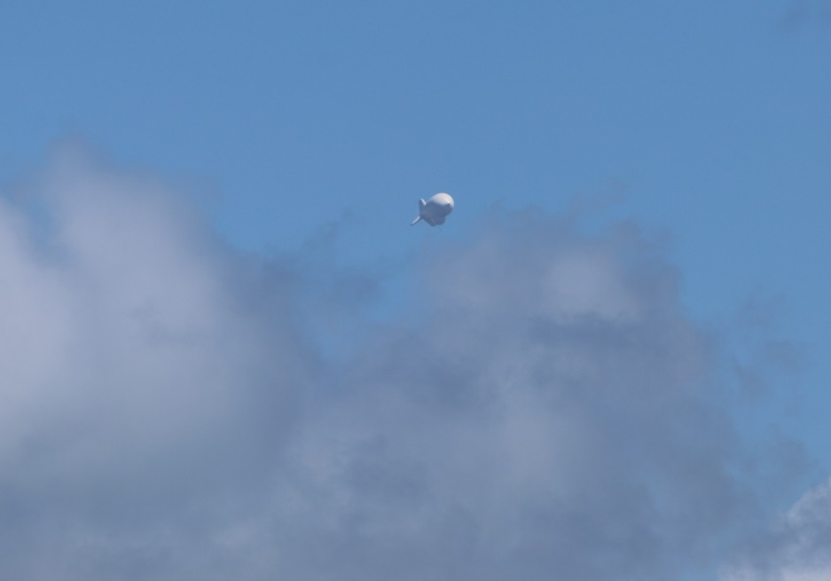 Farewell to Big Brother: Aerostats des Ministeriums for Heimatschutz.