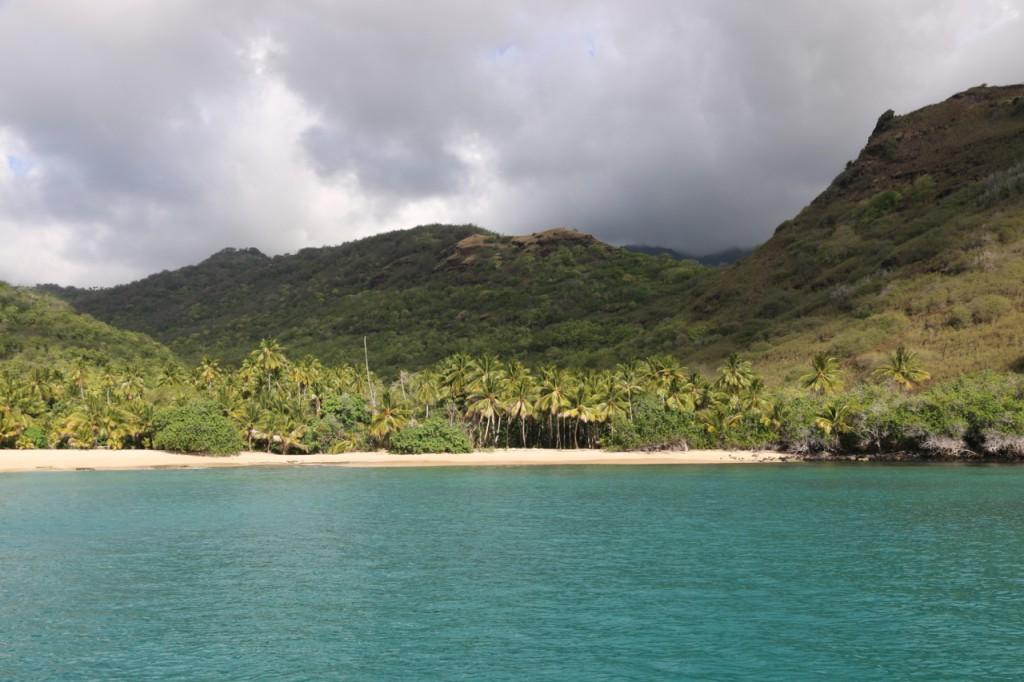 Die Bucht von Hanamoenoa