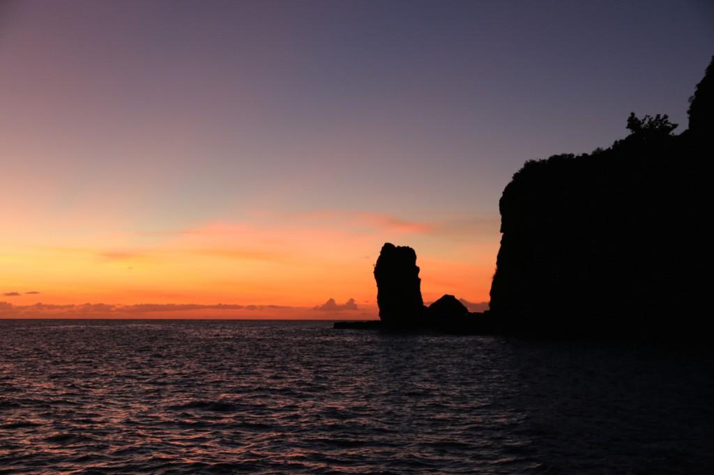 Sonnenuntergang in Ua Pou