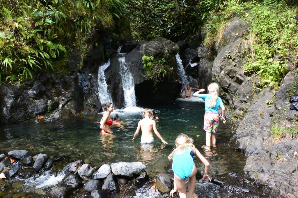Badespaß mit den Mädels von der Hapa Na Sasa