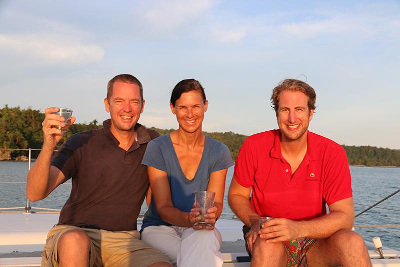 Only the brave I: Moritz ist der erste, der es seit der Karibik zu uns geschafft hat. Chapeau!