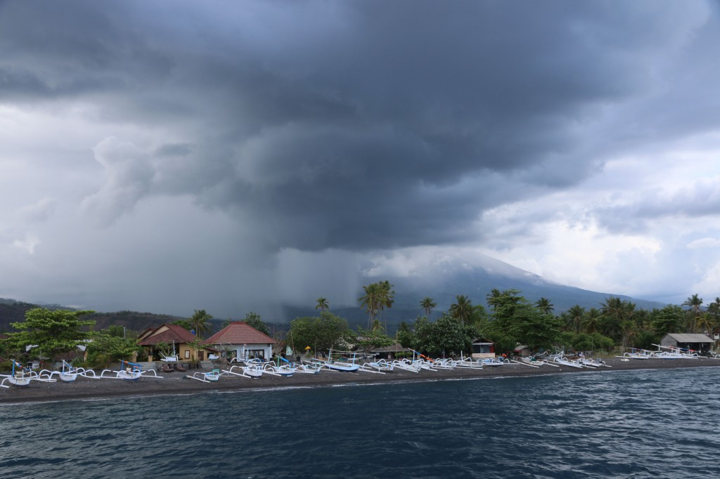 Endlich beginnt die Regenzeit auch im Norden Balis