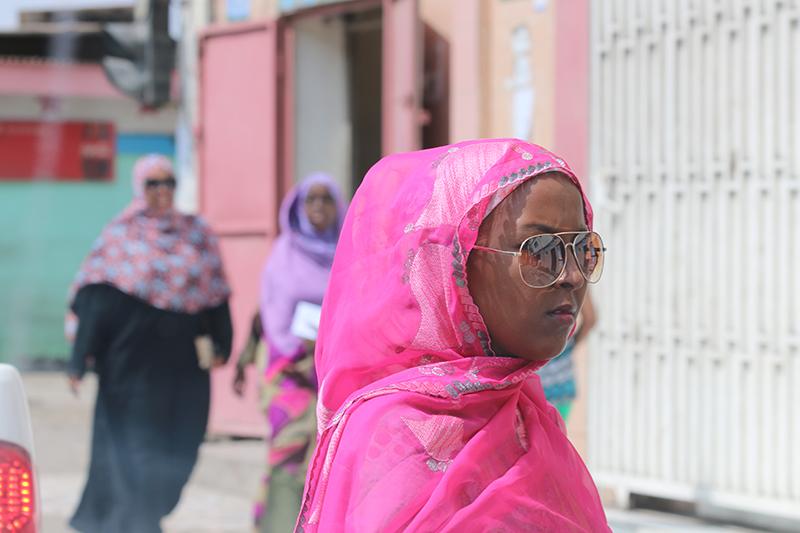 Never hide. Bold fashion, Djibouti-Style